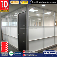 ALUFRONT aluminium office Glass walls partitions for office