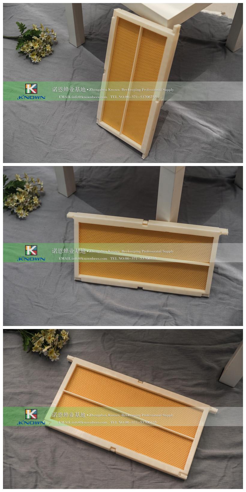 Verwendet Für Langstroth Tiefe Box Kunststoff Bee Rahmen Mit Kamm ...