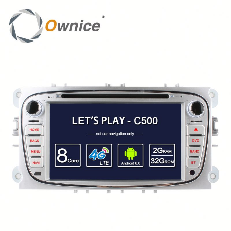 Ownice 8 core 2G RAM Car DVD Player For FORD FOCUS MONDEO 2008 - 2011 with multimedia player With WIFI gps rds BT radio