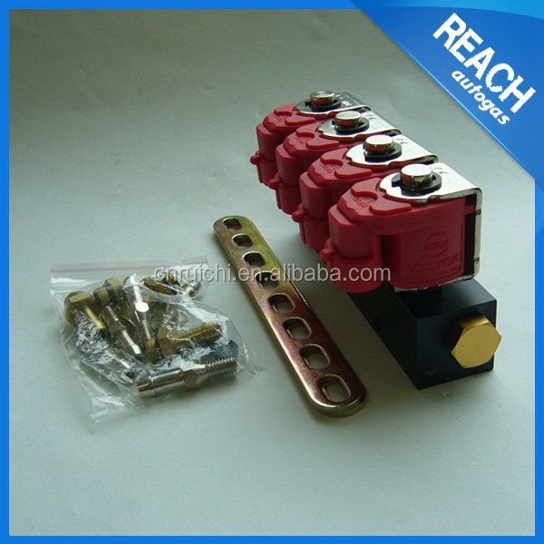 Universal special new style 4 cylinder fuel injector rail