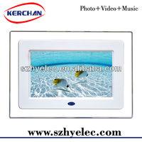 promotion gift digital photo frame, digital photo frame,desktop computer