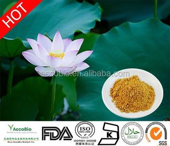 Sacred lotus weight loss
