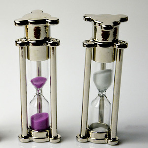 New Metal Glass Sand Clock Timer 4 Minutes Hourglass USB 2.0 Memory Flash Drive 4GB-32GB