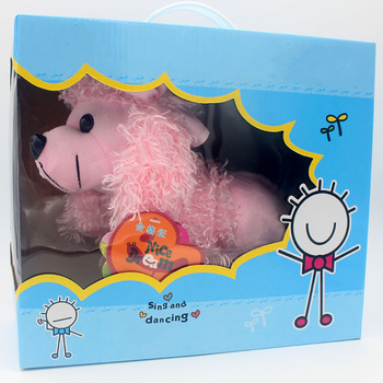 Soft Toy Paper Packaging Box With PVC Window