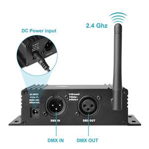 Wireless DMX 512 receiver transmitter free dmx lighting control software