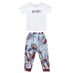 Summer new products children clothes girls clothing sets children clothing sets