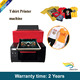 Factory Price Power Jet A3 t shirt printing machine t shirt printer