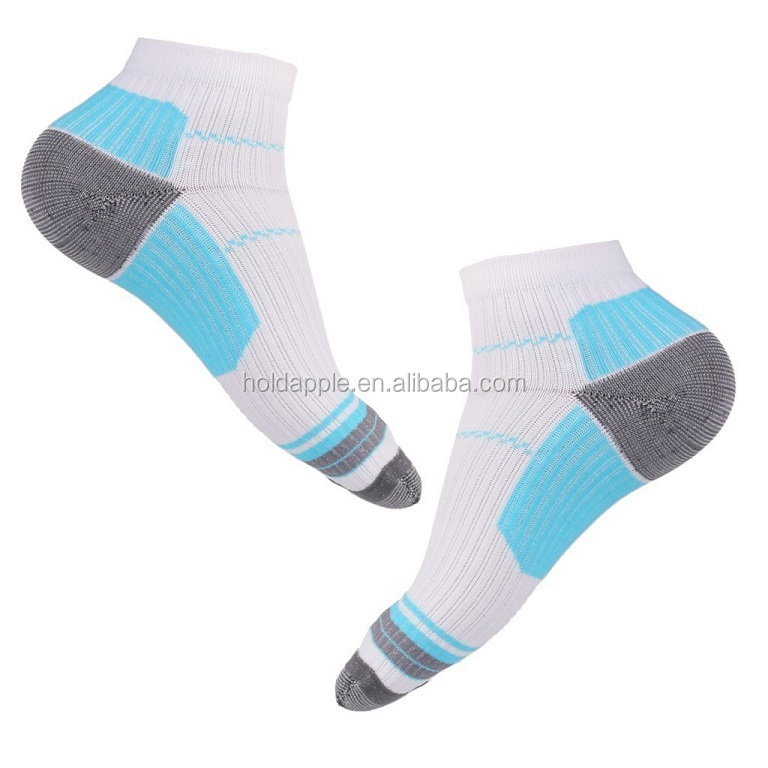 Sport Plantar Fasciitis Arch Support Low Cut Running Gym Compression Foot Socks / Foot Sleeves HA01246