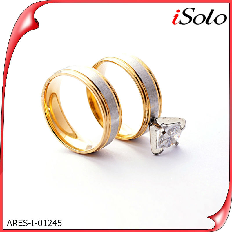 Gold bullion gifts bisuteria gold ring design for couples