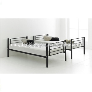 easy split black metal bunk bed