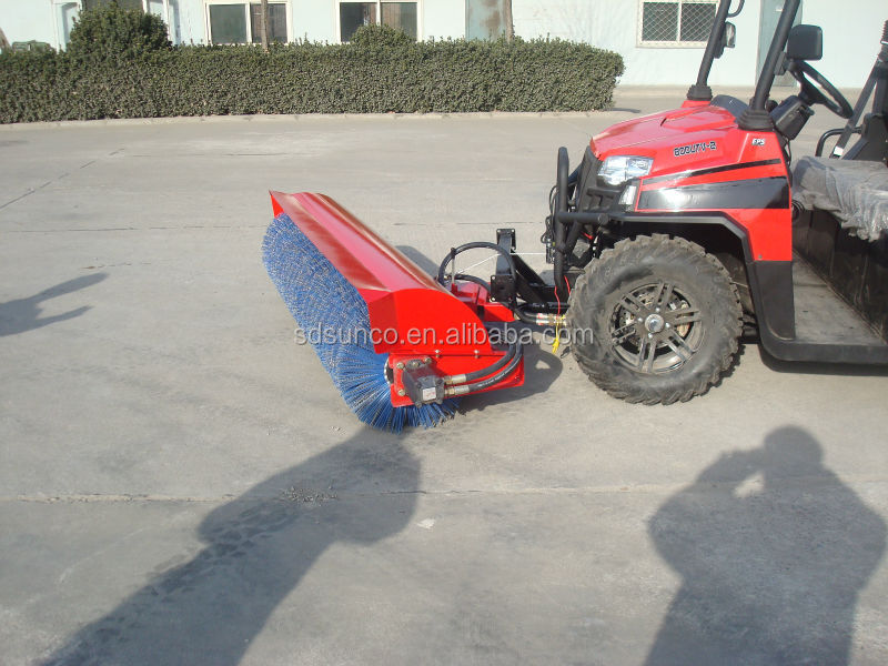 Hot Sale! CE Tractor/ATV Mounted Road Sweeper / Broom / Plow Exported Worldwide