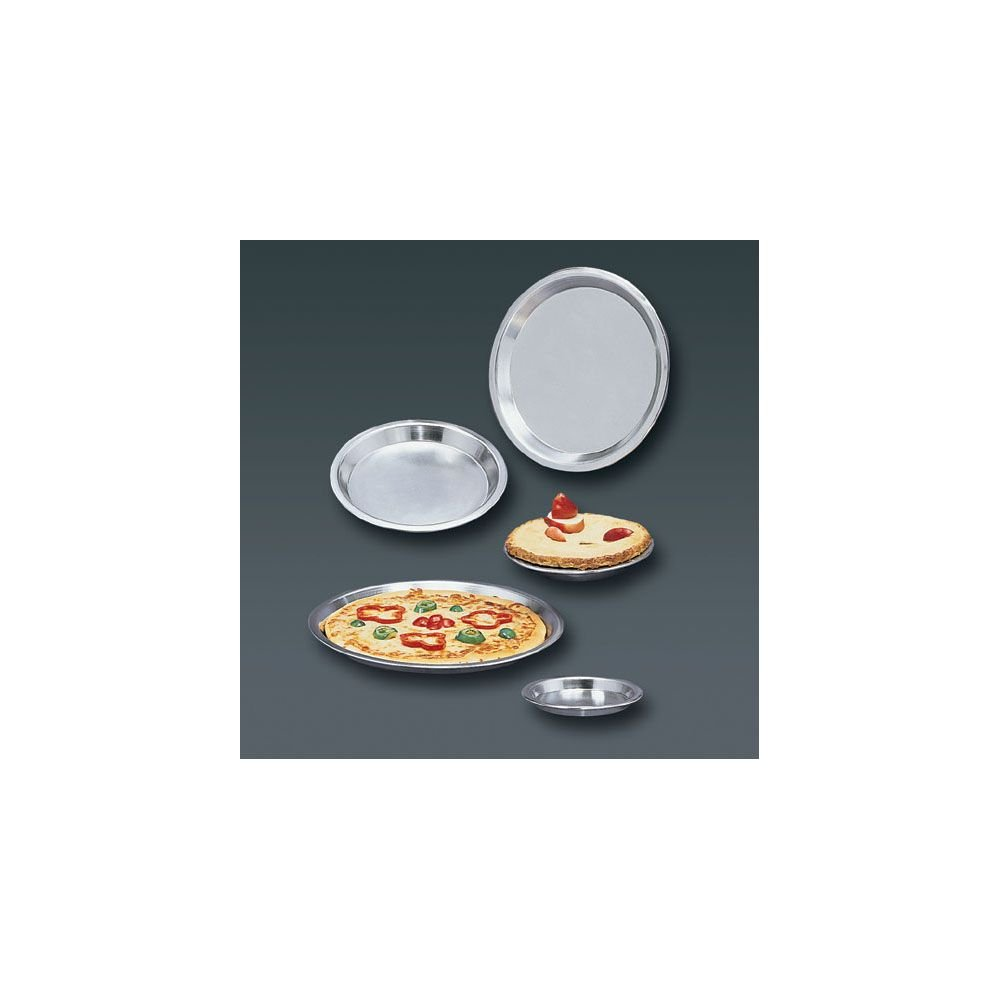 "American Metalcraft 744 Pizza Pans, 7.625"" Length x 7.625"" Width, Silver"