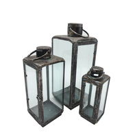 Iron home decorative Candle Lanterns candle stand