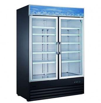 Commercial Glass Door Beverage Display Cooler Drinks Fridge