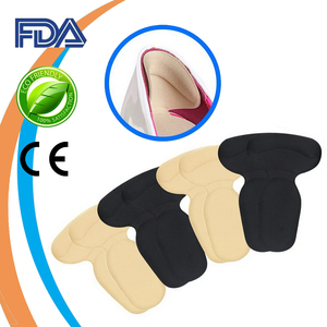 Self Sticky Heel Pain Relief Pads Adhesive Gel Insole