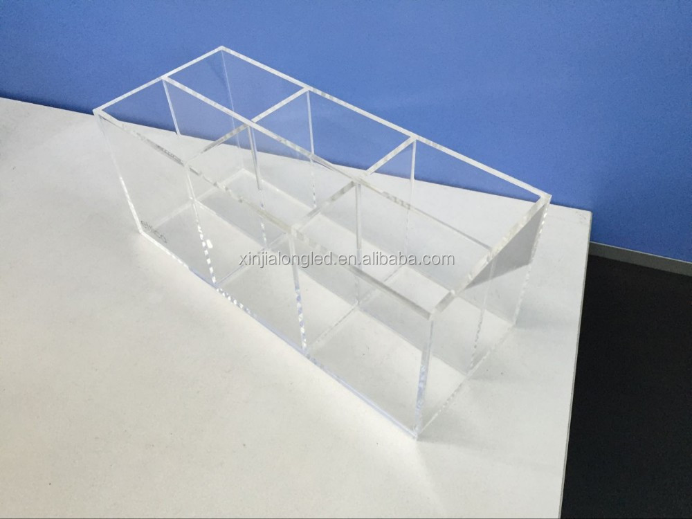 See through clear acrylic box square lucite acrylic for Where to buy lucite
