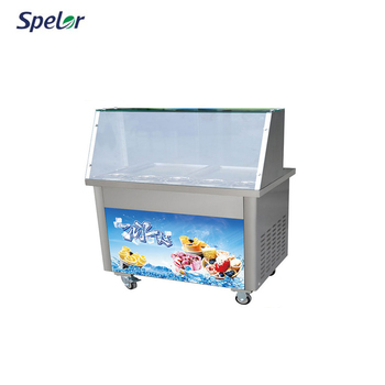 Conveniently Fruit Fried Ice Cream Making Roll Machine Parts Philippines