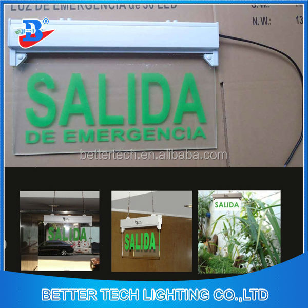 SALIDA LIGHTING EMERGENCY EXIT SIGN Wall Light Fixture