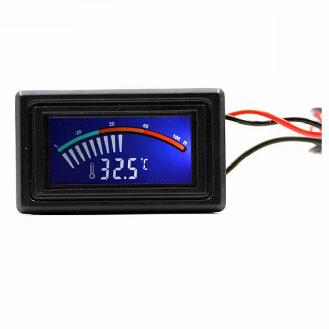 50~110°C Thermometer 5-12V Car Temperature Gauge Digital LED Panel Aquarium