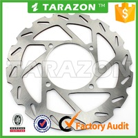 motorcycle high quality ATV quad bike 227mm front disc brake rotor for POLARIS
