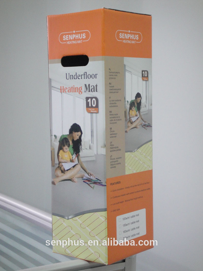 Elektrische Fußbodenheizung Panels Fußbodenheizung Zentralheizung ...