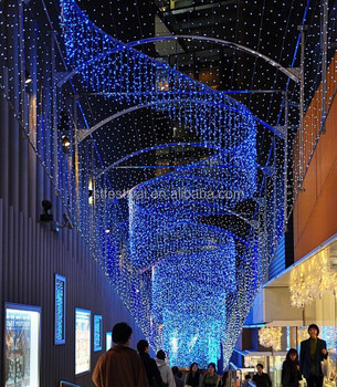 2017 Outdoor Christmas Light Curtain For Ping Mall