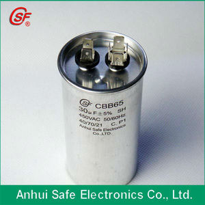 air conditioner part cbb65 Manufacturer cbb65 with CE capacitor