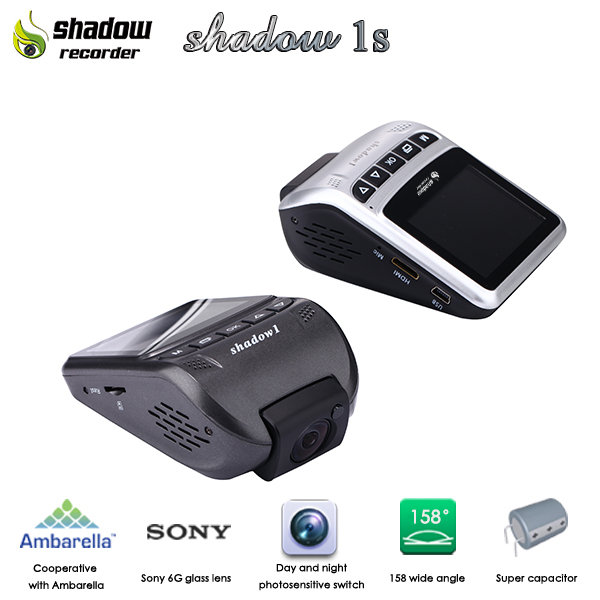 Factory Promotion Shadow 1s Night Vision Infraed Car Top View Camera System Car Recorder Camera