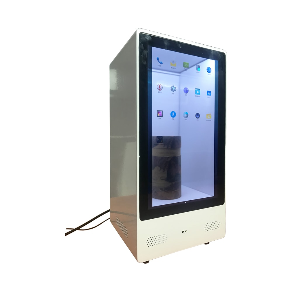 SH0215MZ01-B1 3D holographic display Advertising Machine LED fan hologram display