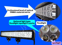 Cree 20inch 126w 42led 8820ml Offroad Led Light Bar Chevrolet ...