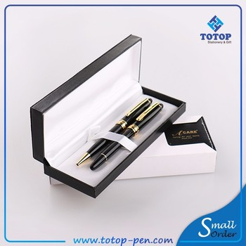 Within 24 hours response High-end custom Logo Printed Gift Pen Set