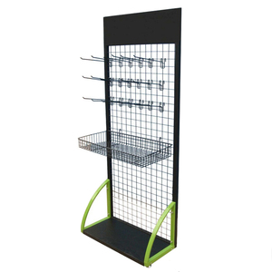 Wire Metal Materials Spare Parts Hanging Display Shelf