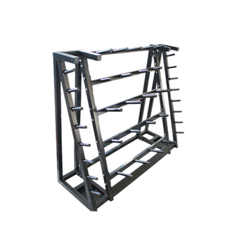 Fitness Body Pump Barbell Plate Storage Rack For 20pcs