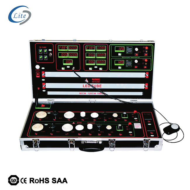 Multi-functionele led demo case led lux cct test box led tester