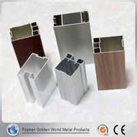 Bright Colored Anodizing Aluminum Window Extrusion Profile