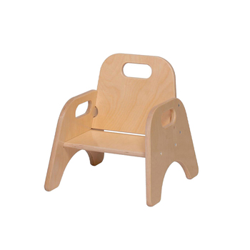 Custom Logo Nursery School Chair Baby Low Wooden Furniture With High Quality