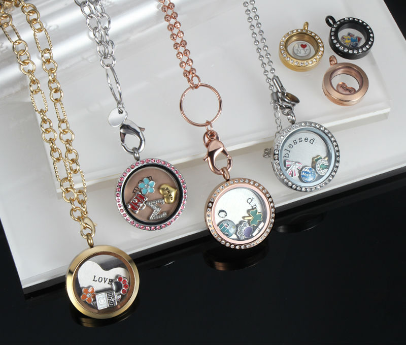 Hottest fashion glass floating charms stainless steel locket hottest fashion glass floating charms stainless steel locket pendant for costume jewelry wholesale mozeypictures Images