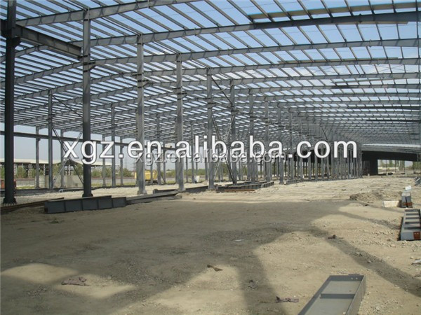 large span pre engineered monolayer steel structure