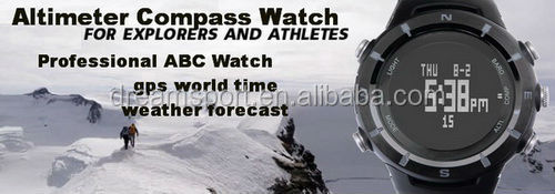 watches with altimeter barometer compass for hiking,camping,exploring,outdoors thermometer temperature