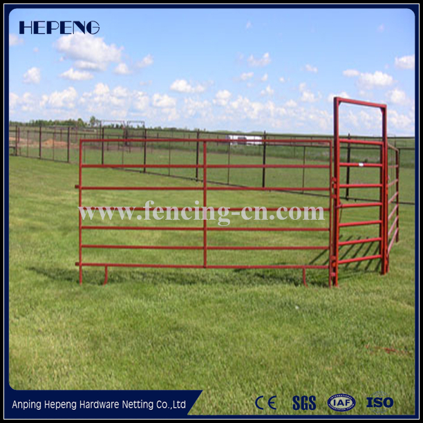 durable galvanized steel farm fence panel / cattle livestock panels and gates for sale