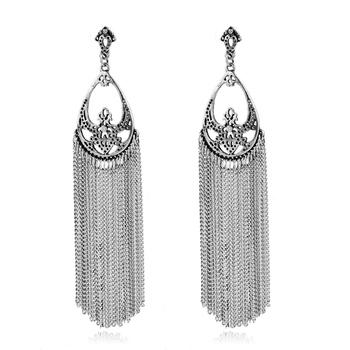 2017 Latest Gold Earring Designs Fashion Style Tels Drop Earrings
