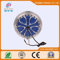 50V brushless electric bike hub motor for electrical vehicle