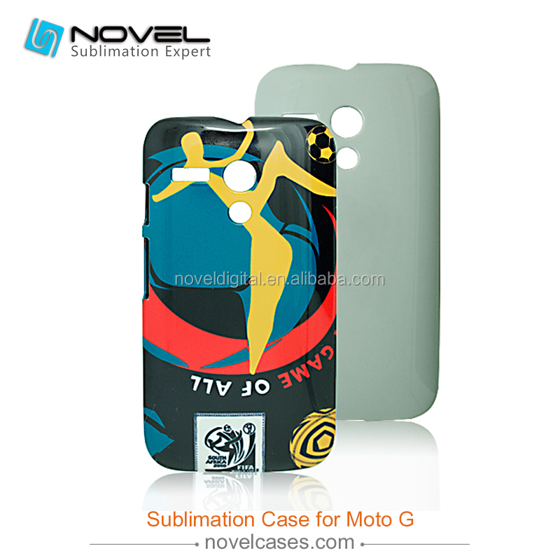 Hot Style Diy 3D Sublimation Blank Mobile Phone Case for Motorola G