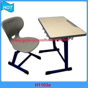 College Study Table And Chair Classroom Furniture