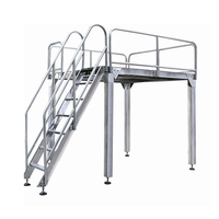 Strong Stainless Steel & Aluminum Supporting Working Platform for Loading Weigher