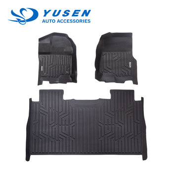 TPE 3D custom non-toxic car floor mat for right hand drive and left hand drive car