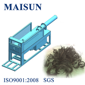 Waste rubber recycling tire wire drawing machine