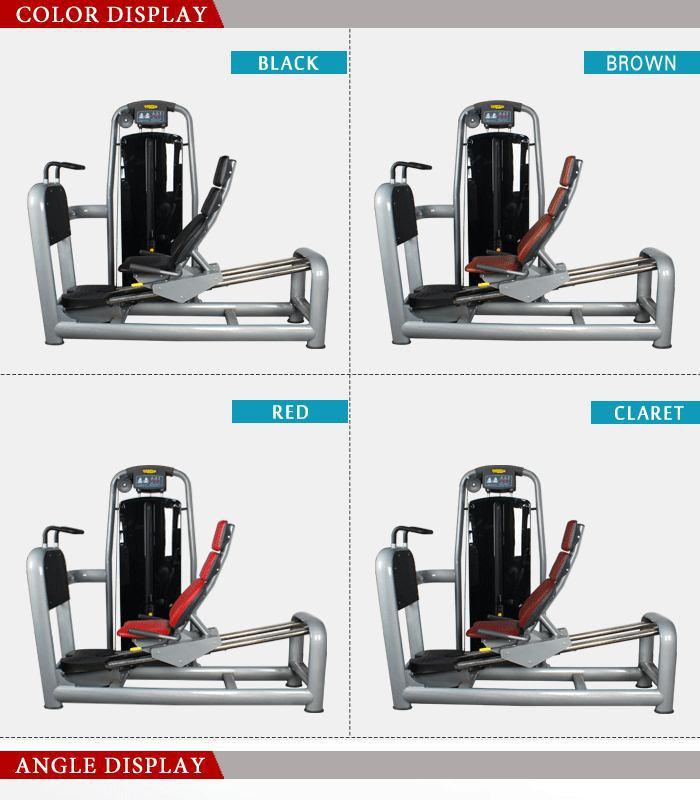 Gym Equipment Legs: BFT-2016 Seated Leg Press_BFT Fitness Equipment