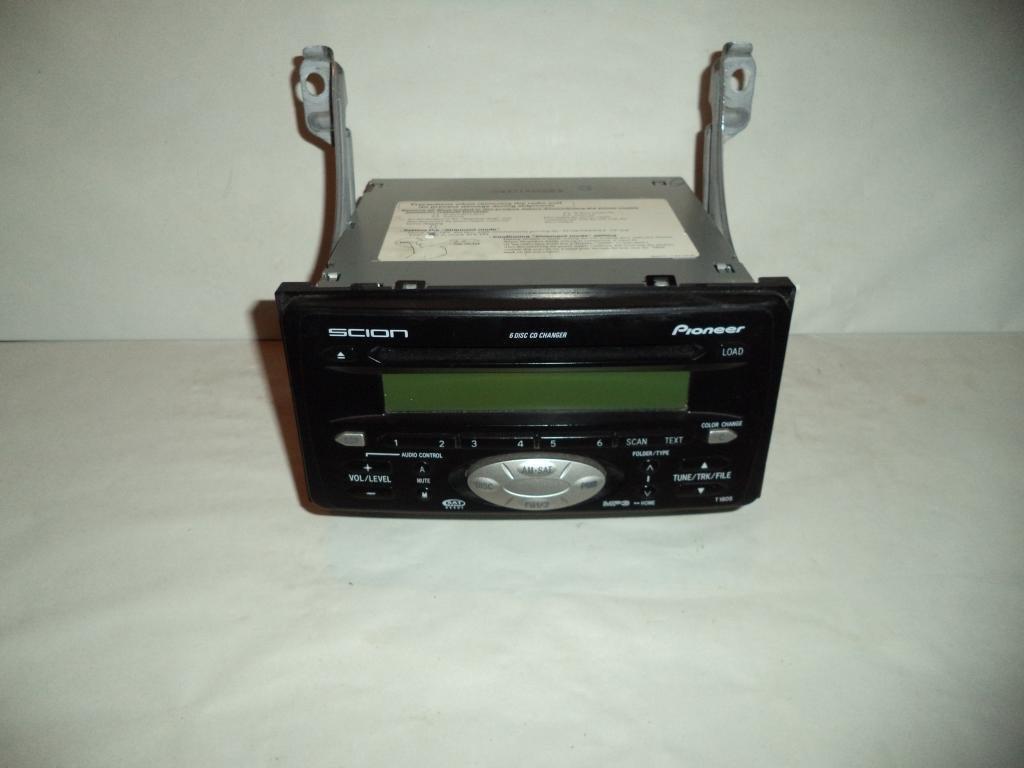 04-06 05 Scion TC Xa Xb Radio CD Player MP3 6 Disc Changer 2004 2005 2006 #5962