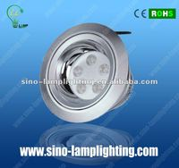 High efficiency 15w led dimmable downlight